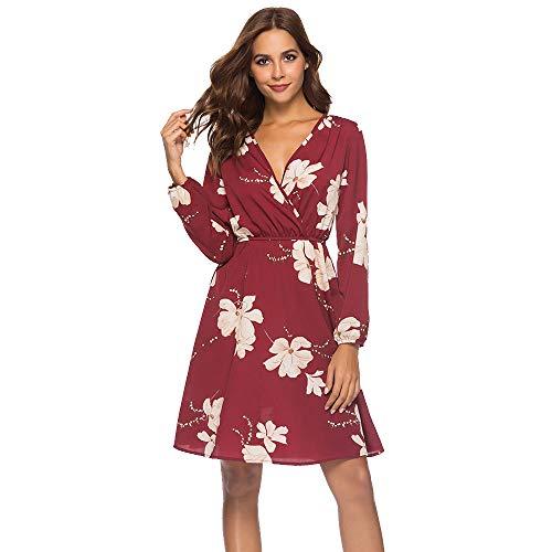 HWTOP Kleid Kurz T-Shirt Kleider Damen Kleid Japanische Kleid Spitze Spaghetti Kleid Damen Kleider...