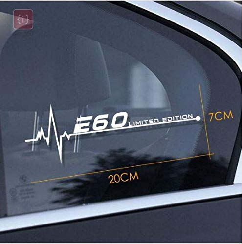 ISEE 360®Car Styling Reflective Window Decal Sticker for BMW E60 Car Sticker Vinyl Decals L x H 20.00 cm x 7.00 cm