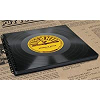Rockabilly Fotoalbum aus Schallplatte | Fotobuch | buch mit Namen | Phonoboy | Gastgeschenk | Geschenk | Hochzeitsgeschenk für Rockabillies | Individuelles Geschenk Hochzeit | Retro Vintage 50er Jahre 50s