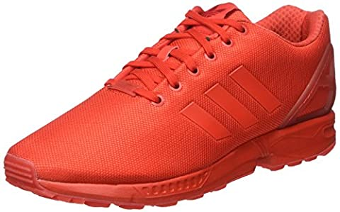 adidas Herren ZX Flux Low-Top, Rot (Red/Red/Red), 42 2/3 EU