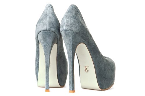 Janiko High-Heels Plateau Pumps COCO Grey