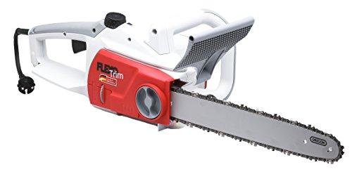 IKRA FlexoTrim Elektro Kettensäge KSE 2540 LA Schwertlänge 40cm kraftvoll 2.500 Watt mit einstellbarer Ölpumpe, beleuchtetem Ölsichtfenster & Überlastungsanzeige