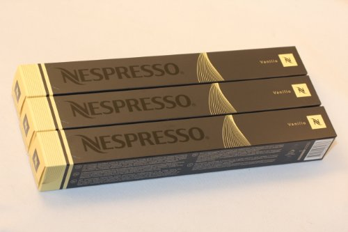 Order 30 Vanilio Nespresso Capsules Espresso Lungo - Nestlé