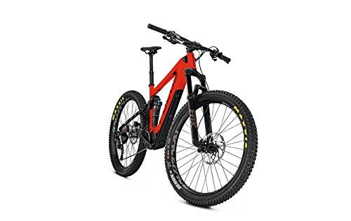 Focus E-Mountainbike 27 Zoll Fully Jam² C Plus (2018) - 11-Gang-Kettenschaltung, Fully-Rahmen - Rot/Schwarz