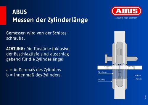 ABUS Profil-Zylinder XP2SN 40/50, 19568 - 7