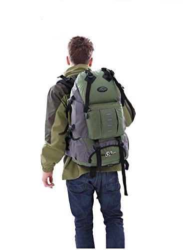 Sport & Outdoor Rucksack Trekking Taschen Wasserdicht WanderrucksäCke army green