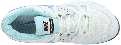 Nike Air Vapor Advantage, Tenis De Mujer Blanco (weiß (blanco / Vvd Bl-glcr Ic-pr Pltnm))