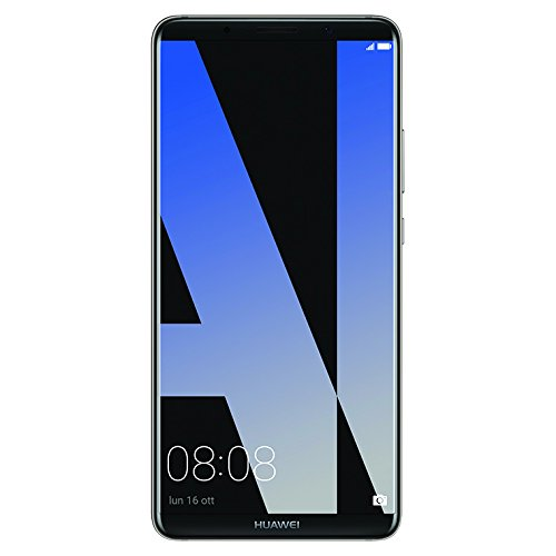 Huawei 774268 Mate 10 Pro Smartphone 128GB Brand Tim(20MP Monochrome+12MP RGB. f/1.6. Dual-LED Flash, 6GB Android 8.0 (Oreo)) Titanium grau