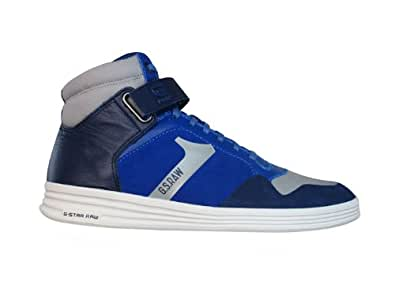 G-Star Raw Futura Outland Strap Suede Mens Trainers / Boots - Blue - SIZE UK 7