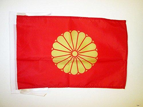 AZ FLAG Bandera del JAPÓN Imperial 45x30cm - BANDERINA Japonesa DE Guerra 30 x 45 cm cordeles