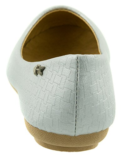 Beppi Ballerina Shoes Mujer Elegante Plata
