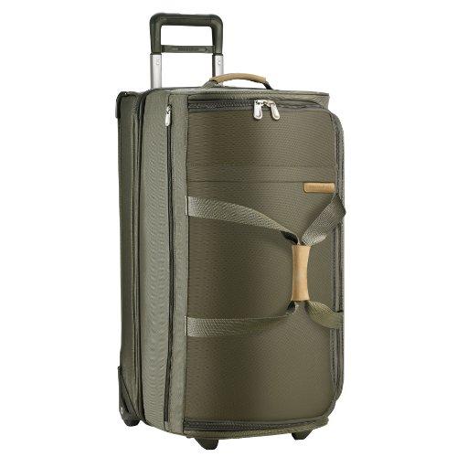 briggs-riley-baseline-large-wheeled-duffle-sac-de-voyage-mixte-vert-vert-olive-taille-unique