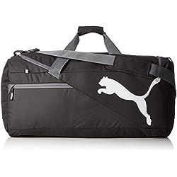 Puma Tasche Fundamentals Sports Bag - Hombreras de hockey sobre hielo, color negro, talla 72 x 32 x 31 cm, 65 Liter