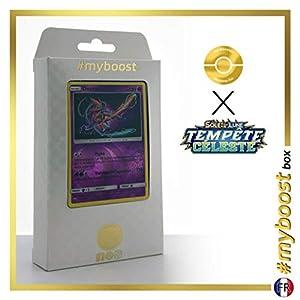 Deoxys 67/168 Holo Reverse - #myboost X Soleil & Lune 7 Tempête Céleste - Box de 10 Cartas Pokémon Francés