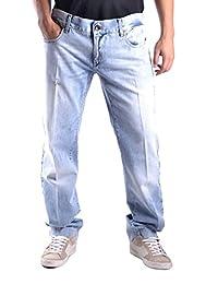 Dolce E Gabbana Homme MCBI099306O Bleu Claire Coton Jeans