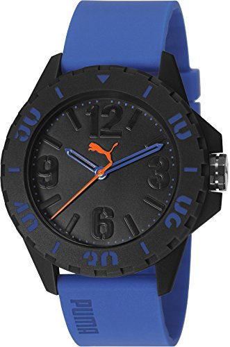 Puma PU103801003 - Reloj de cuarzo unisex, color azul