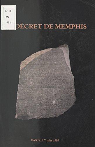 Le Décret de Memphis