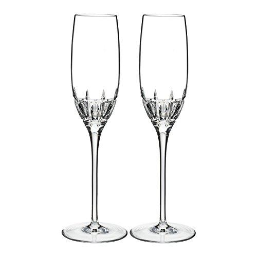 Waterford Harper Lunettes de flûte, cristal, transparent, lot de 2
