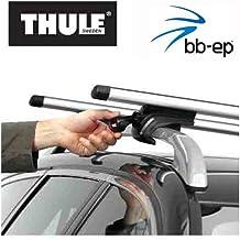 Thule 90107463Premium Barre Portatutto in alluminio set con Neuer Wing Bar Traverse