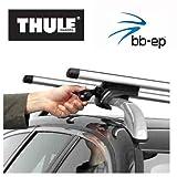 Thule 90107675 Premium Aluminium Dachträger Set mit neuer WingBar Traverse