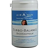 Preisvergleich für Basenpulver Kapseln Turbobalance 180 Stück - für den Säure Basen Haushalt mit Kalium, Calcium, Magnesium und Zink...