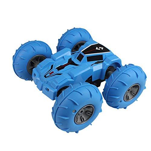 Ferngesteuertes Stunt RC Auto Spielzeug,Auto Gblife 2,4 GHz 360° Drehung RC Racing Buggy Spiegeln Doppelseitiges Fahren High Speed Stunt Autos Spielzeug Geschenke für Kinder ab 8 Jahre Alt (Blau)