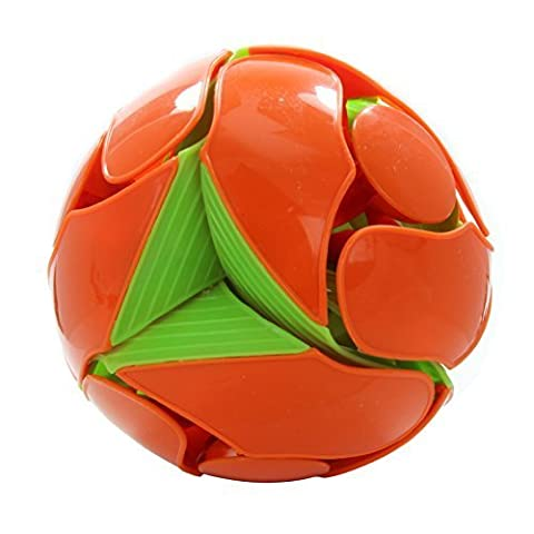 Switch Pitch 4 Inch Color-Flipping Ball Orange to Green by Hoberman