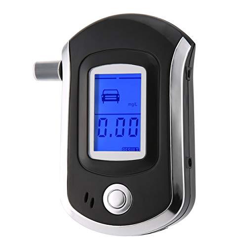 Tellaboull for Förderung Professionelle Tasche Digital Alkohol Tester Analyzer Alkoholtester Detektor Test Test LCD Display