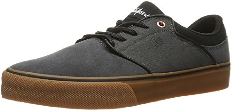 DC Men'S Mikey Taylor Vulc Mikey Taylor Signature Skate Shoe, Gris/Negro, 38.5 D(M) EU/5.5 D(M) UK