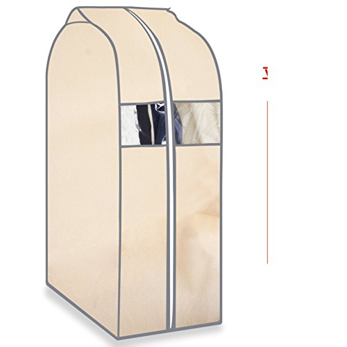 JINTINADEBIAOXIAN Kleidung dust cover grosse kleidung cover hang clothes bag boot stereo transparent cover haushalt dust bag bekleidung cover-C 60x120x30cm(24x47x12inch) (Boot-stereo-cover)