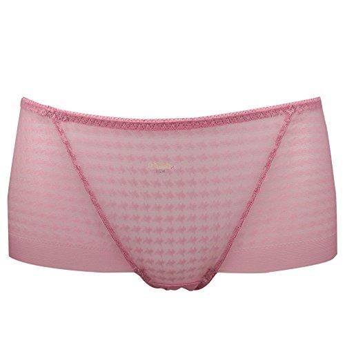 Kostüm Oma Nachthemd (RRRRZ*Sexy Lei Mesh Gewebe Gaze transparente Temperament und Versuchung, Terrasse, Unterwäsche, ultra-dünne Taille 3 in Frau Kok Hose ,L, üblichen zongzi)