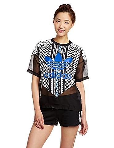 Adidas T-Shirt Soccer 44 Noir - Black/Multicolor