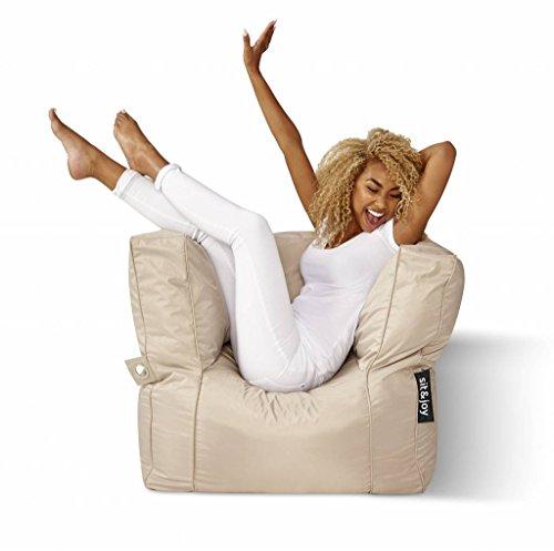 Sit Joy Basic Square Zitzak.Sit Joy Zitzak Grandio Beige