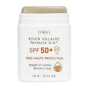 EQ   Protector Solar Facial en Stick SPF50+ – Filtros Minerales – Cara y Zonas Sensibles – Protección UVA UVB muy alta – Resistente al Agua – Caqui – 10g