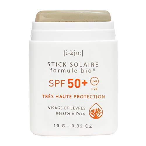 EQ | Khaki Sonnenschutzstick LSF 50+ für Gesicht & Lippen - wasserfest