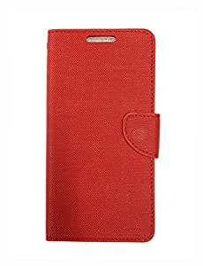 Fabson Flip Cover for Samsung Galaxy J7 - 6 (2016 Edition) Flip Cover Case - Red