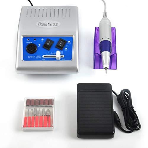 Elektrische Nagel Bohrmaschine Maniküre Pediküre Dateien Werkzeuge Nagelpolierer (Bohrmaschine Und Auswirkungen)