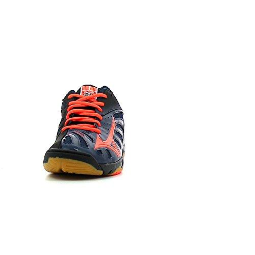 Mizuno - Volcano handball pro - Chaussures handball bleu/orange/noir
