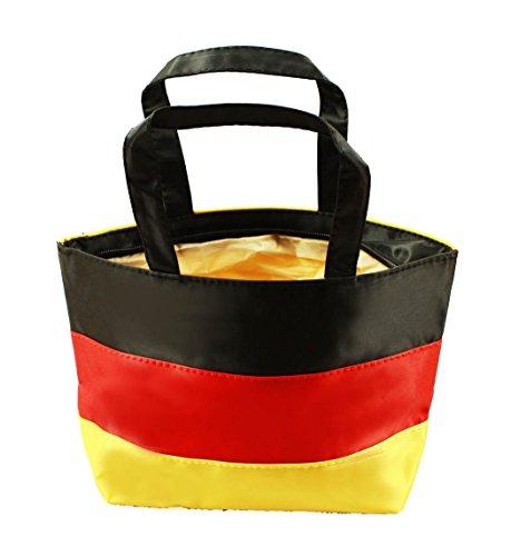 HAAC Fan Tasche Deutschland Fahne 27x19x7 cm Fußball 2016