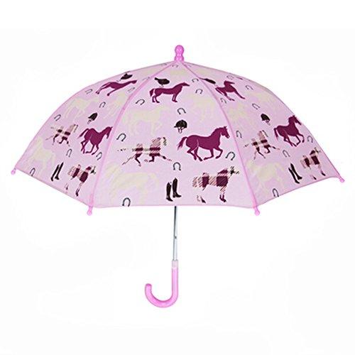 Kinder-Regenschirm - Kinder Rainy 22inch Tag Umbrella - Pferd