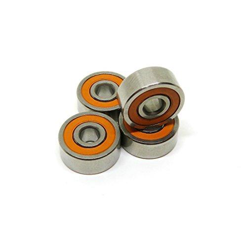 zoty ABEC-7-Hybrid Keramik Kugellager smr623C-2rs Angelrolle Kugellager 3x 10x 4mm Dry Kugellager smr103C-2rs Pack von 5x