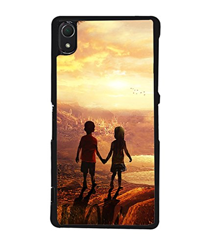 PrintVisa Designer Back Case Cover for Sony Xperia Z2 (Book Shelf Multi colour Painting Designer Case Modern Art Cell Cover Lovely painting Smartphone Cover abstract paint classic )  available at amazon for Rs.395