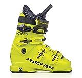 Fischer RC4 Junior MP23,0 EU36 2/3 Kinder Skischuhe Flex 70 Skistiefel Jugend Boots 2019, gelb 23.0