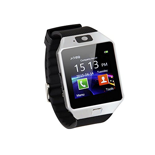 2016 Hot Smart Watch DZ09 Orologio da Polso Intelligente con Bluetooth 3.0 e Telecamera Touchscreen per Samsung /Android, HTC. Supporta Orologio Smartphone Sport SMI/TF