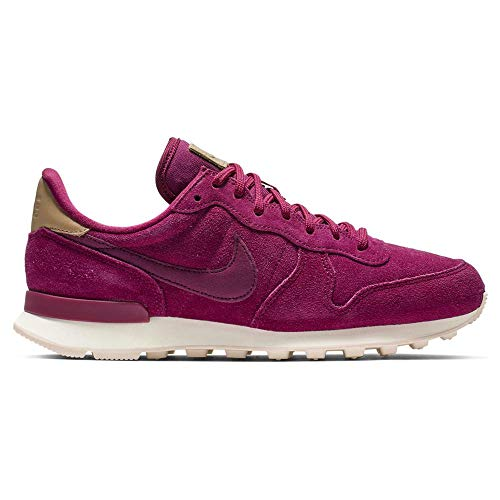 Premium-casual-schuhe (Nike Damen W Internationalist PRM Leichtathletikschuhe, Mehrfarbig (True Berry/Summit White 603), 39 EU)
