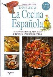 Portada del libro Gran Libro De La Cocina Española