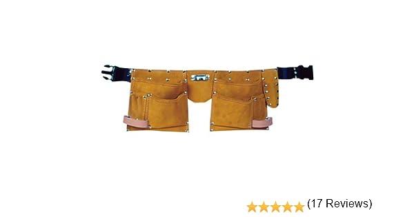 /électricien bricoleur 11/poches Montstar Ceinture /à outils en cuir pour charpentier