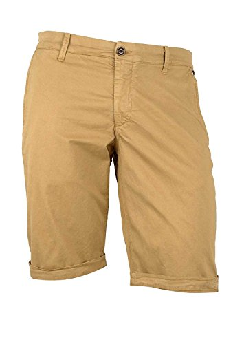 Franklin-Marshall-Mens-Skinny-Fit-Shorts-Beige