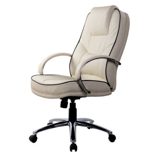 Best Saving for RS Soho Rome2 leather-faced executive office chair in cream Online