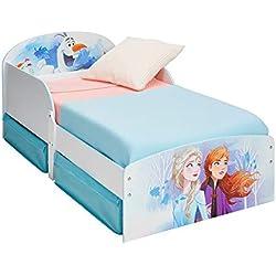 Disney Enfants avec Espace de Rangement sous Le lit, Single